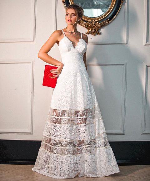 Voir cet article sur Instagram Un article partagé par Vestido Casamento Civil (@casamentociviloficial)