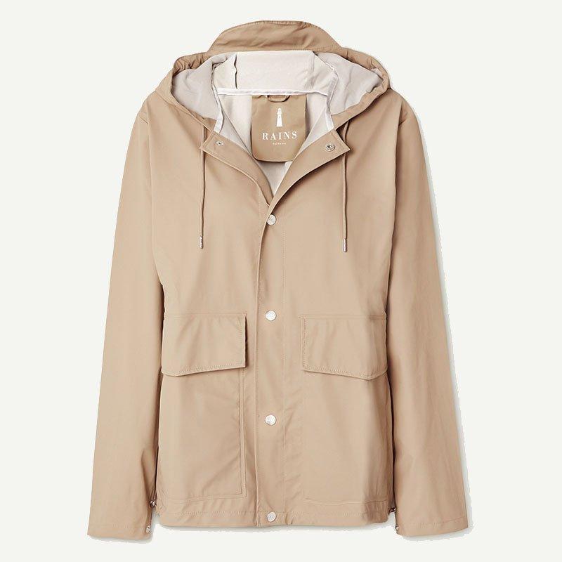 Manteau imperméable à capuche RAINS