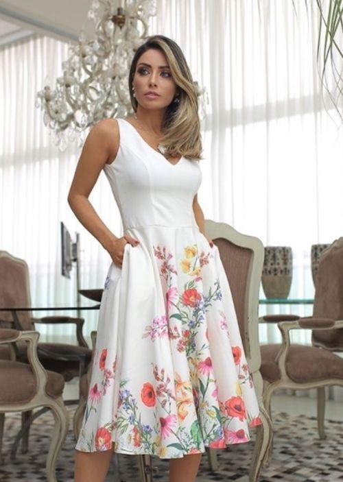 Je suis marraine du baptême et maintenant?!  Quoi porter?!  |  Giuli Castro |  Robes, robe de mariée simple, robe de soirée courte pour les invités