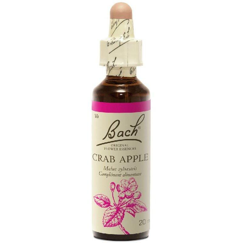 Remède aux fleurs de Bach Original Pomme de crabe