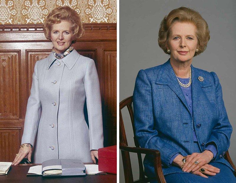 La mode comme arme: Margaret Thatcher