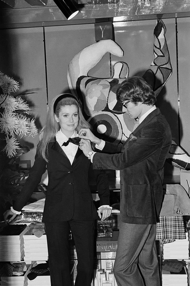 Catherine Deneuve dans Yves Saint Laurent (1966)