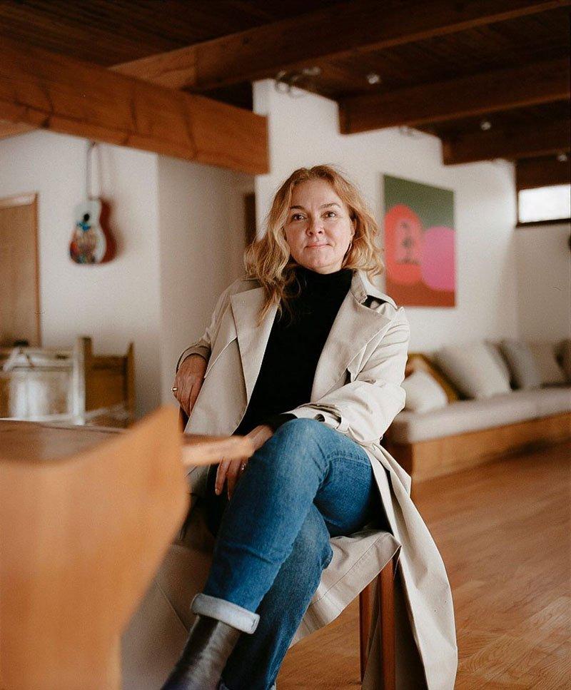 Kirsten Kay Weis - fondatrice de la marque de maquillage Kjaer Weis