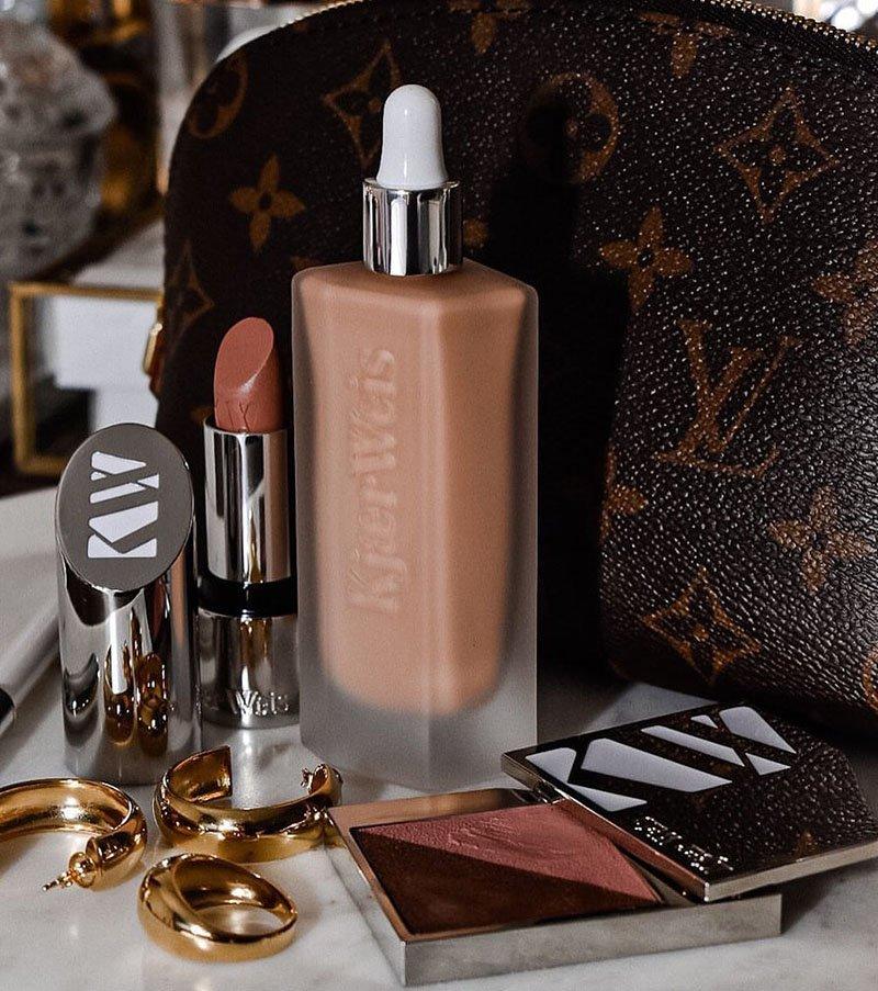 maquillage bio luxueux par Kjaer Weis
